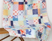 Sunnyside Baby Quilt - Crib Quilt - READY TO SHIP