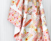 Twin Size Jelly Bean Quilt - 2twenty Thr3e Fabric Collection - READY TO SHIP