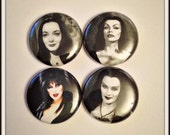 "Ladies of Horror 1"" Button Choose Your Own"