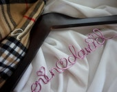 Personalized Bride Hanger, Engagement Party Gift