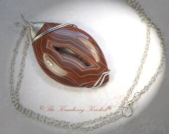 Onyx Druzy Gemstone Necklace, Red Onyx Drusy Necklace