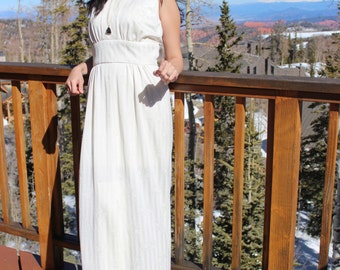 Ivory White Gypsy Dress