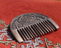 Hand Carved Wood Comb Replica from Iron Age Poland