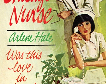 Chicago Nurse - 10x15 Giclée Canvas Print of a Vintage Pulp Paperback Cover