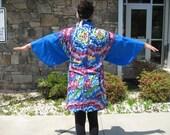 Rainbow Feathers Oriental Style Jacket