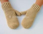 Crochet Pattern 105 - Crochet Mitten Pattern for Adult Mittens in three sizes Crochet Glove Pattern Mittens Patterns Adult Teen Men Women