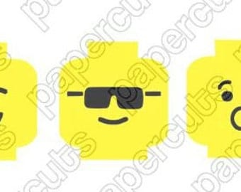 Handmade Lego Inspired Digital cut file for cameo and silhouette machines Svg INSTANT DIGITAL DOWNLOAD