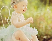 Crochet Crown for Girl in Baby, Toddler, Child, and Adult Sizes