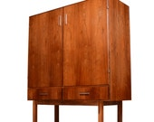 Danish Rosewood Bar Cabinet