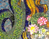 Mermaid with Water Lilies