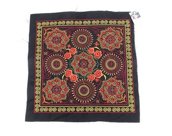 Wonderful Textile Flowers Embroidered Collection Thailand (TX810-OZ)
