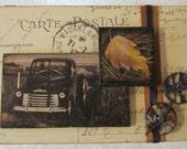 Nostalgic Themed Decorative Wood Box