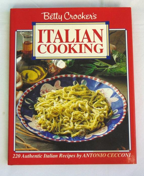 Vintage Betty Crocker's Italian - 123.0KB