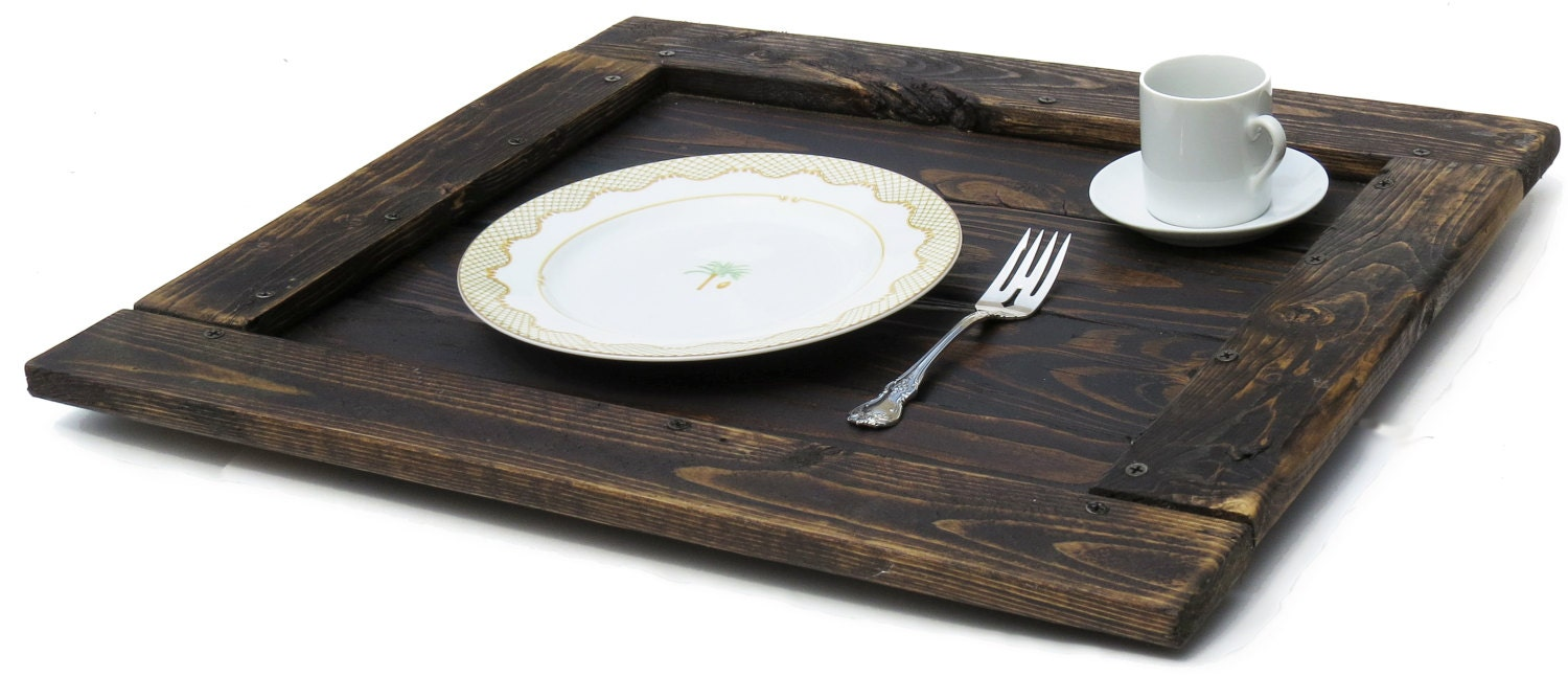 Serving Tray Reclaimed Wood Furniture Coffee Table