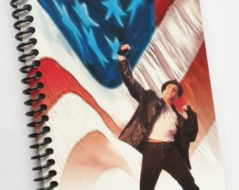 Notebook ROCKY V VHS movie Journal The Italian Stallion Sylvester Stallone