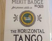 The Horizontal Tango Merit Badge