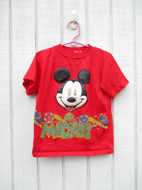 Vintage Mickey Mouse Top Kid s Shirt Vintage Baby by