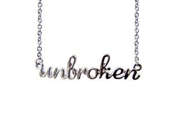 The Unbroken Necklace in Silver - CFJ1501S