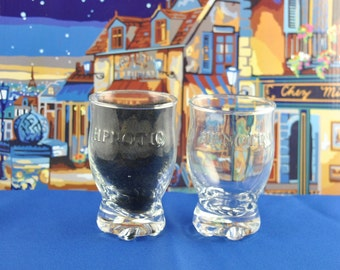 Vintage Hpnotiq Liqueur Cocktail Glass, Shot Glass, Vodka Glass, Whiskey Glass, French Shot Glass, Barware, Vodka Drink, Cognac, Whiskey