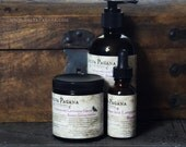 Natural beard care gift set for him - beard trifecta - beard oil beard and body wash beard conditioner YOU CHOOSE SCENT