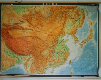 Classroom Map of China