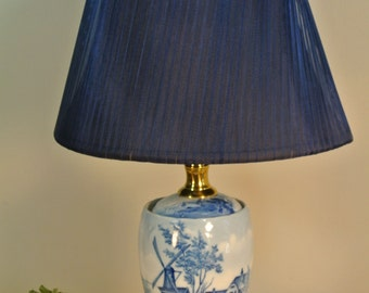 Blue Delft Lamp