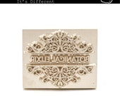 Durable Brass Soap Stamp - Custom Made and Personalised Service
