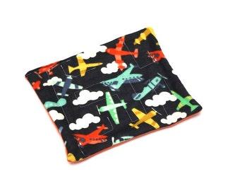 Fabric Marble Maze - Travel Game - Quiet Toy - Montessori Puzzle - Waldorf Homeschool Toy