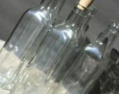 Set 6 Bottles 8 Oz. Bottles 240ml 9in Limoncello Bottles Glass Bottles Empty Glass Bottles Bottles And Corks Corked Bottles Olive Oil Bottle