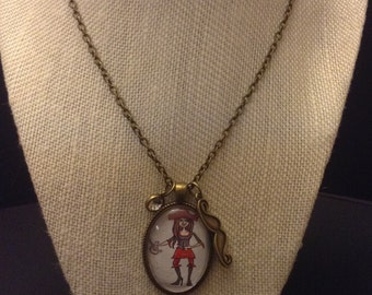 Sweet Pirate Girl Pendant