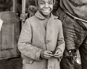 Vintage Photo of Young African American Girl - Negro Girl - Civil Rights - Jim Crow Era - Art