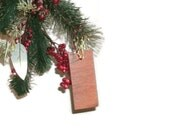 Small Hardwood Ornament - Upcycled Wood - Ready To Ship