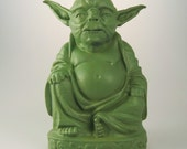 Star Wars - Zen Yoda  (Mint Green)