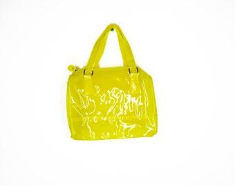 Shiny PVC Handbag