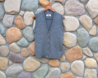 Vintage Grey Vest - Above All