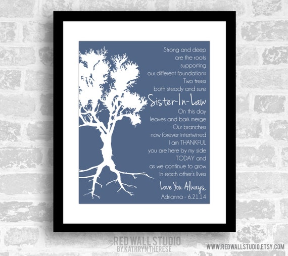 Wedding Gift Ideas For Sister In Law: Gift For Sister In Law Birthday Wedding Gift For By