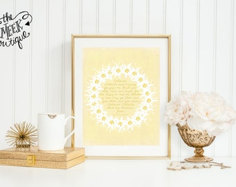 INSTANT DOWNLOAD, Edelweiss, Sound of Music Printable, No. 295