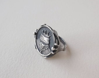 Frog Prince Ring *made to order*