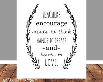 items similar to mister rogers quote teacher quote