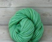 Calypso - Hand Dyed Superwash Merino Wool DK Light Worsted Yarn - Colorway: Sea Glass