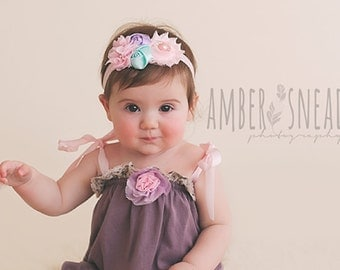 Baby headband, baby headbands, girl headband, newborn headband, Easter headband, baby hair bow, easter bow, newborn photo prop,