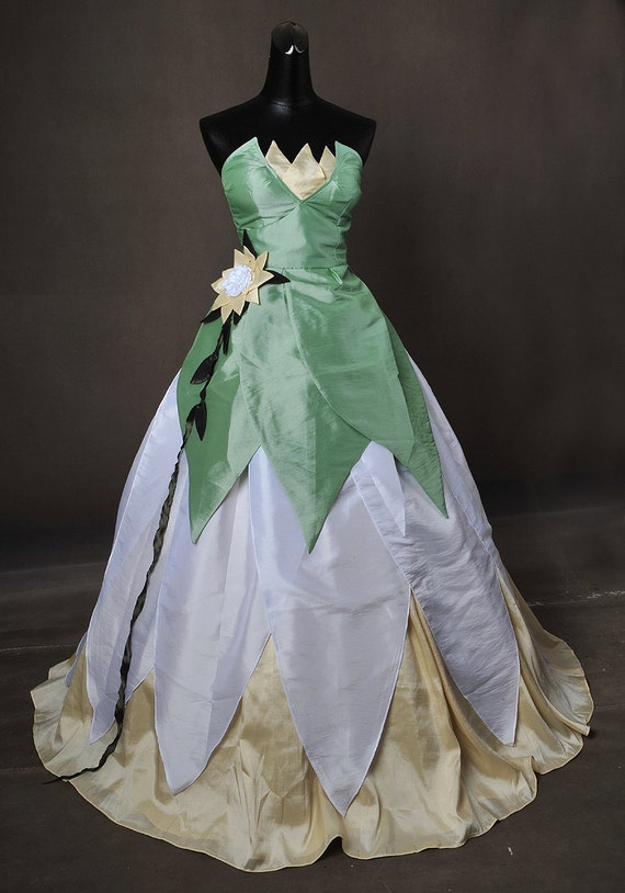 Items similar to Princess and the Frog Tiana Adult Cosplay