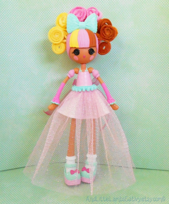 lalaloopsy clothes light pink sheer gown