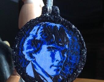 Sherlock & Watson Ceramic Ornament