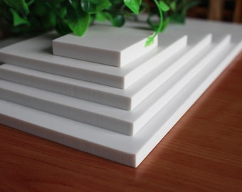 A4 Size White Rubber Block - DIY Rubber Stamp - Stamp Rubber - Stamp Carving - 21cm x 29cm - MR011
