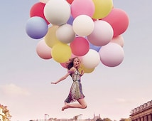"""HUGE 36"""" Round Latex Balloon Latex Balloons Pick Your Colors Big Balloons 36 inch Balloons"""