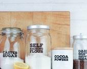 Jar Labels - Really Useful Pantry Labels: Starter Set
