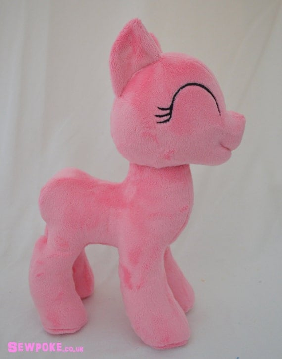 My Little Pony Friendship is Magic Mare Pony Pattern and Tutorial - Make your own Pony Plush!