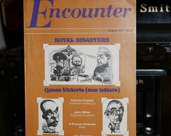Encounter, A British Literary Journal, August 1974 Issue, Queen Victoria, British Royal Family