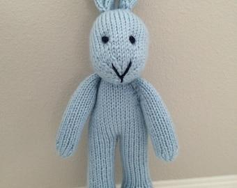 Knitted Bunny Rabbit - Photo Prop - Stuffed Bunny - Stuffed Animal - Soft Toy